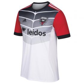 DC United Away Shirt 2018 with Ousted 1 printing