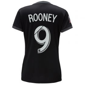 DC United Home Shirt 2018 - Womens with Rooney 9 printing
