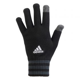 adidas Tiro Gloves - Black/Dark Grey