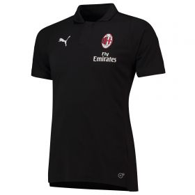 AC Milan Casuals Polo - Black