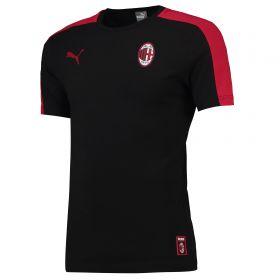AC Milan T7 T-Shirt - Black
