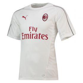 AC Milan Training Jersey - White