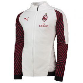 AC Milan Training Stadium Jacket - White