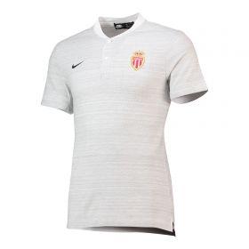 AS Monaco Authentic Grand Slam Polo - White