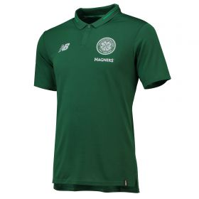 Celtic Elite Leisure Essential Polo - Green