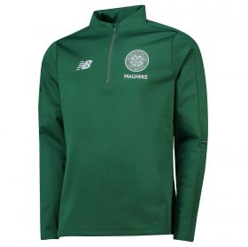 Celtic Elite Training 1/4 Zip Softshell - Green