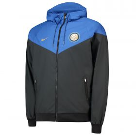 Inter Milan Authentic Windrunner - Black