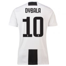 Juventus Home Shirt 2018-19 with Dybala 10 printing