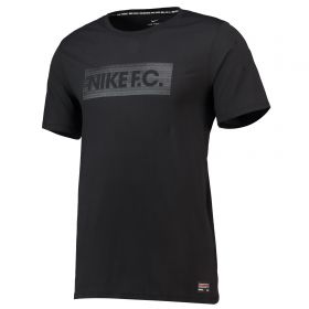 Nike FC Seasonal Block T-Shirt - Black
