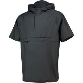 Nike FC Short Sleeved Hooded Jacket - Black
