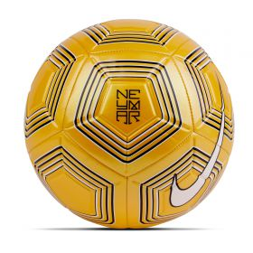 Nike Neymar Jr Strike Football - Yellow