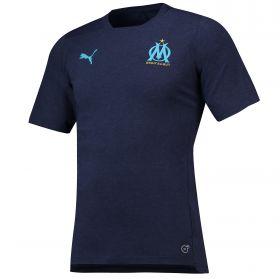 Olympique de Marseille Casuals T-Shirt - Dark Blue
