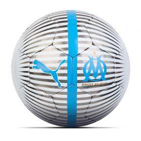 Olympique de Marseille One Chrome Ball - Black
