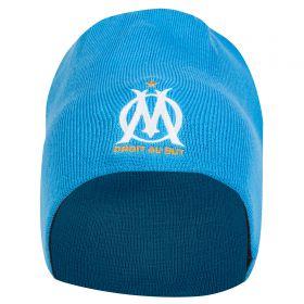 Olympique de Marseille Reversible Beanie - Light Blue