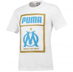 Olympique de Marseille Shoe Tag T-Shirt - White