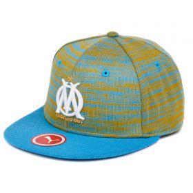 Olympique de Marseille Snapback Cap - Light Blue