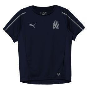 Olympique de Marseille Training Jersey - Dark Blue - Kids