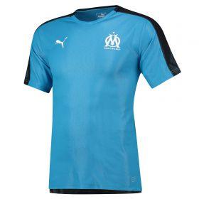 Olympique de Marseille Training Stadium Jersey - Light Blue