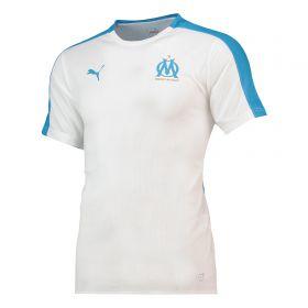 Olympique de Marseille Training Stadium Jersey - White