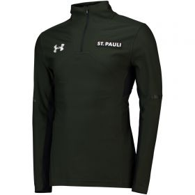 St Pauli Sideline 1/4 Zip Training Top - Dark Grey