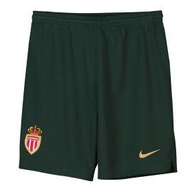 AS Monaco Away Stadium Shorts 2018-19 - Kids