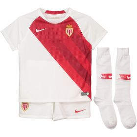 AS Monaco Home Stadium Kit 2018-19 - Little Kids