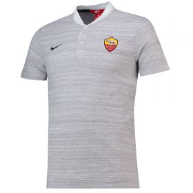 AS Roma Authentic Grand Slam Polo - Grey