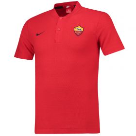 AS Roma Authentic Grand Slam Polo - Red