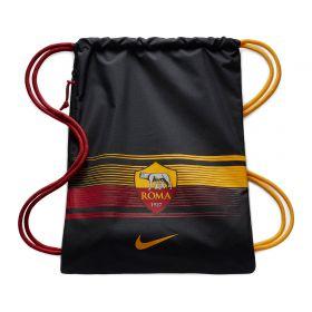 AS Roma Gym Sack - Black