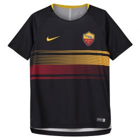AS Roma Pre Match Top - Black - Kids