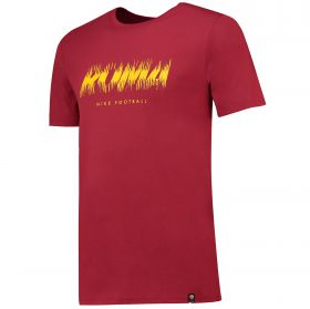 AS Roma Pre Season T-Shirt - Red