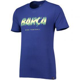 Barcelona Pre Season T-Shirt - Royal Blue