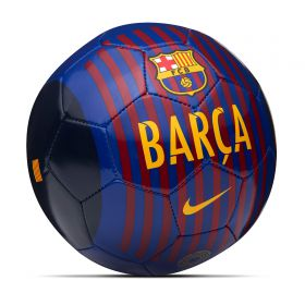 Barcelona Skills Football - Royal Blue - Size 1