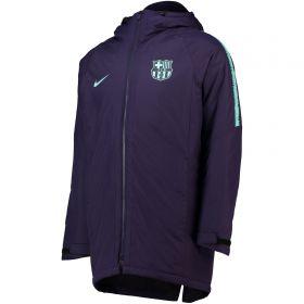 Barcelona Squad Padded Jacket - Purple