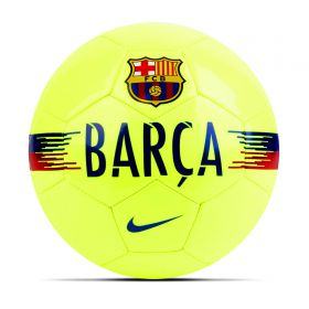 Barcelona Supporters Football - Yellow - Size 5