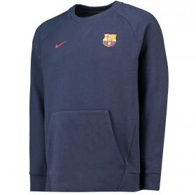 Barcelona Venue Crew Sweatshirt - Dark Blue
