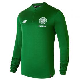 Celtic Elite Training Mid-Layer Top - Green