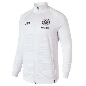 Celtic Elite Training Walk Out Jacket - White
