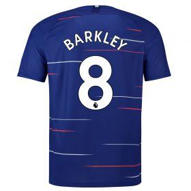 Chelsea Home Vapor Match Shirt 2018-19 - Kids with Barkley 8 printing