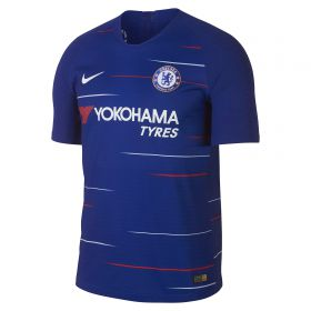 Chelsea Home Vapor Match Shirt 2018-19 - Kids with Hazard 10 printing