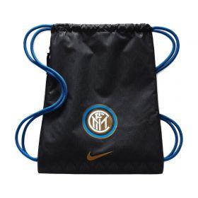 Inter Milan Gym Sack - Black