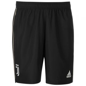 Juventus Training Woven Short - Black