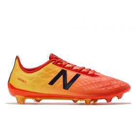 New Balance Furon 4.0 Destroy Firm Ground Football Boots - Orange