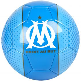 Olympique de Marseille Crest Football - Size 5