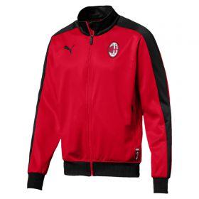 AC Milan T7 Track Jacket - Red