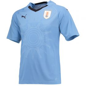 Uruguay Home Shirt 2018 with Cavani 21 printing