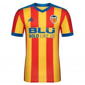 Valencia CF Away Shirt 2017-18 with J. Jiménez 29 printing