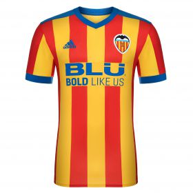Valencia CF Away Shirt 2017-18 - Kids with G. Guedes 7 printing