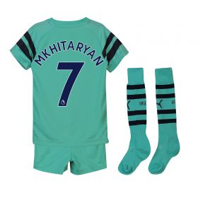Arsenal Third Mini Kit 2018-19 with Mkhitaryan 7 printing