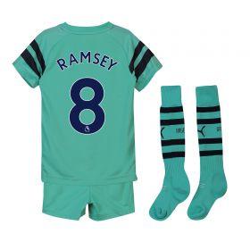 Arsenal Third Mini Kit 2018-19 with Ramsey 8 printing